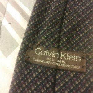 Vintage calvin klein tie
